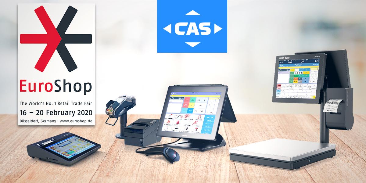 CASPOS Systeme auf EuroShop 2020
