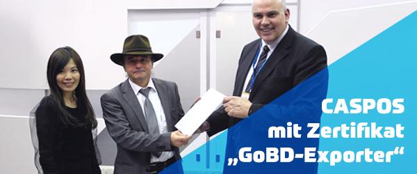 Übergabe des GoBD-Zertifikats